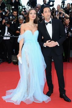 "Lara Lieto and Adrien Brody - 2017 Cannes Film Festival, ""Ismael's Ghosts"""