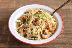 How about a Lemony Pasta with Roasted Shrimps for dinner. Serve it a glass of wine and enjoy a cozy dinner with your loved one. Vegetarians can substitute it the Shrimp with some broccoli and make it wholesome. Give it a try. http://ift.tt/2i6CnDc #Vegetarian #Recipes
