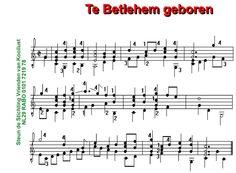 Te Betlehem geboren