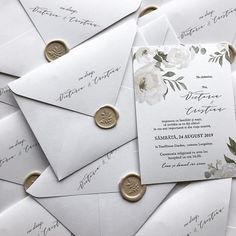 #wedding #weddiingstationery #weddingstationerydesign #weddinginvitation #weddinginvitations #invitation #invitationsuite #custominvitation… Green Wedding Invitations, Simple Wedding Invitations, Elegant Invitations, Wedding Stationary, Custom Invitations, Pocket Invitation, Invitation Envelopes, Floral Invitation, Invitation Design