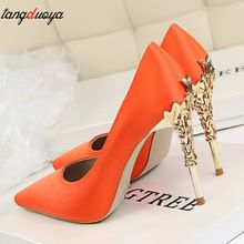 Women high heels party shoes women pumps pointed toe stilettos shoes for  women high heel shoes ladies wedding shoes bride 3e919a5fb83
