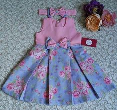 Tutorial Tuesday: How to add flutters to the Fair & Square Top and Dress Pattern Frocks For Girls, Little Girl Outfits, Little Girl Dresses, Kids Outfits, Girls Dresses, Girls Frock Design, Baby Dress Design, Baby Girl Dress Patterns, Baby Frocks Designs