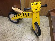 Tigerenten Laufrad im Tiger-Design = HABEN WOLLEN