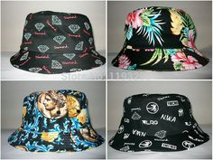Find More Bucket Hats Information about 2014 Christmas New Arrival Diamond  YMCMB Hawaii Floral Bucket Hats f3e1eb8079c
