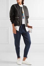 3.1 Phillip LimLace-up stretch-knit track pants $425
