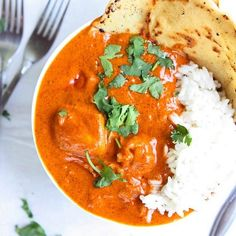 Indian Butter Chicken is so easy to make, and ridiculously delicious!