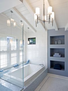 Bathroom Bathtub Alcove Design, Pictures, Remodel, Decor and Ideas - page 16