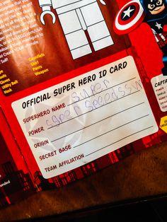 Superhero ID Cards � Free Superhero Printable