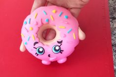 Shopkins D'lish Donut Cake Topper Tutorial