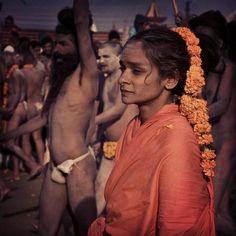 Sadhvi - Kumbh Mela est un des festivals plus sacrés de l'Inde. https://www.getsholidays.fr/