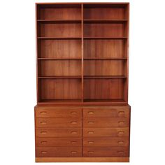 Borge Mogensen Book Case and Chest of Drawers 1