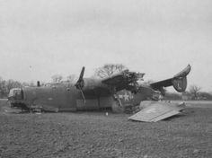 Consolidated B-24J-90-CO Liberator Serial number 42-100353 703rd Bomb Squadron, 445th Bomb Group, 8th Air Force. Crash landed in a field near Metfield,Norfolk,England on March 8,1944.