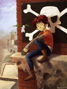 Peter Pan by ~Quezzie on deviantART