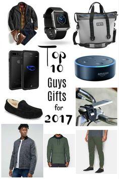 Top 10 Guys Gifts Christmas 2017// gifts for guys…