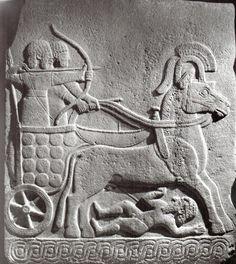 Hittite, combat car, Kargamış, Museum of Anatolian Civilization (Kurt Bittell) (Erdinç Bakla archive)