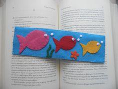 Felt Bookmark by Libelloula on Etsy