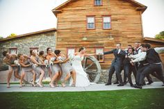 A picture from our wedding!! @CalebCookePhotography @Shenandoah Mill