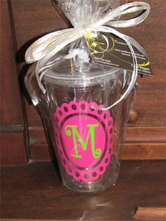 Clear Acrylic Cup $12 : Create Your Own