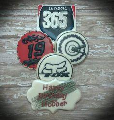 Dirt Bike Fox Racing Cookies