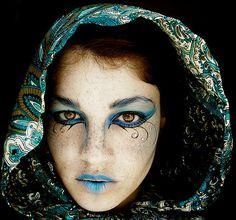 Elven make up look