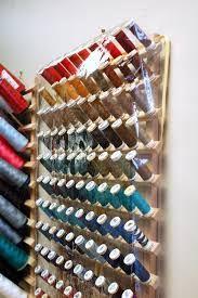 Image result for thread storage racks uk & A DIY Sewing Room | Pinterest | Thread storage Storage and Woods