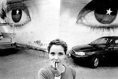 Julie Delpy photographed by Guillaume Bonn, 1990′s