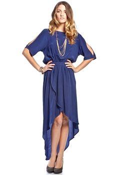 Gypsy 05 Sofia Cold Shoulder Tulip Dress #new #fashion #dress #cutout #highlow