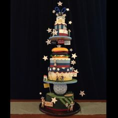 """Valero Texas Open 90th Anniversary - cake by DUFF Goldman """"Ace of Cakes"""""""