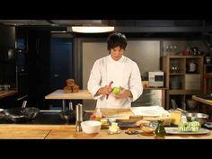 Receta #4 Pan Runner asado con láminas de pollo aromatizadas Jordi Cruz Versión larga - YouTube