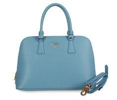 Prada Bolsos de Mano 0816 Azul Claro