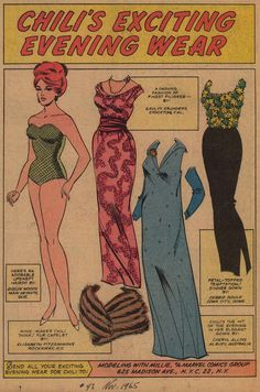 millie the model paper dolls - Google Search