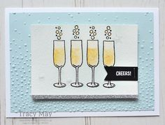 Mixed Drinks from Stampin' Up! Happy Hour Drinks, Party Mix, Card Companies, Masculine Birthday Cards, Stampin Up Catalog, Congratulations Card, Mixed Drinks, Halloween Cards, Diy Cards