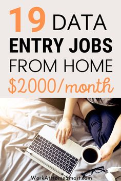 Looking for the best online data entry jobs from home to earn money? Here's a list of companies with data entry jobs for beginners worldwide. Typing Jobs From Home, Online Typing Jobs, Online Data Entry Jobs, Work From Home Careers, Work From Home Companies, Online Jobs From Home, Legitimate Work From Home, Work From Home Opportunities, Home Jobs