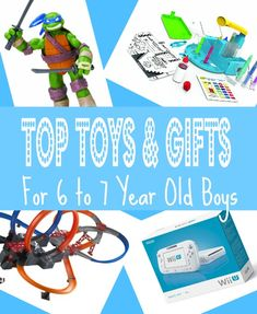 best toys gifts for 6 year old boys in 2013 top picks for christmas - Best Gifts Christmas 2014