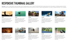 Good walkthrough of one person's journey to create a thumbnail gallery that looks good on virtually any screen.