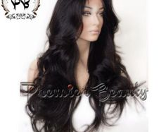 Human hair wigs glueless full lace wigs 100% por PREMIERBEAUTY