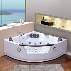 Baignoires baln o on pinterest jets massage and angles - Baignoire balneo 160 ...
