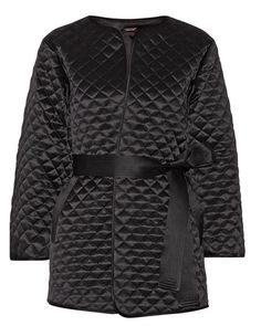 Adam Lippes Quilted Satin Silk Jacket