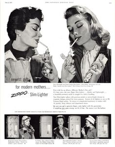 CIGARETTES ARE FOR MOMMIES