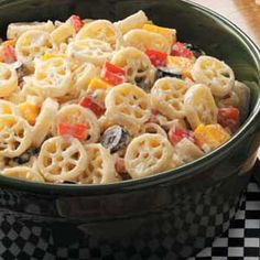 Wheely-Good Pasta Salad Recipe | Taste of Home Recipes