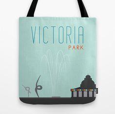 Victoria park tote bag - shopping bag