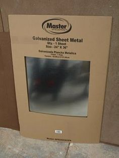 DIY Magnetic chalk baord.. use this when making a magnetic chalk board.. Just Prime with aluminum primer & spray w chalk board paint. (get this for cheap in the plumbing section at home depot)