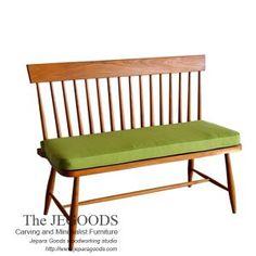 Bangku Sofa Vintage Retro - Mebel retro java sofa bench windsor spindle line bench 2 seat. Teak retro vintage designer manufacturer exporter from Jepara.