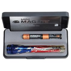 Promotional FLAG Mini Mag-Lite flashlights are one of the most loved #PromotionalGifts. Try now!   #Custom #MagliteFlashlights