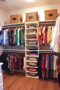 14 Closet organization Ideas Master Diy closet storage Master Bedroom Closet Design How Organized Our Small Bedroom Closet Design, Closet Designs, Bed Designs, Diy Storage Ideas For Small Bedrooms, Bedroom Ideas, Diy Bedroom, Small Storage, Closet Ideas For Small Spaces Bedroom, Bedroom Small