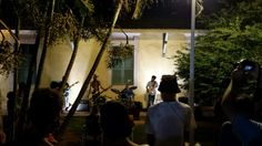 Banda de rock na Feirinha na Lagoa da Conceição