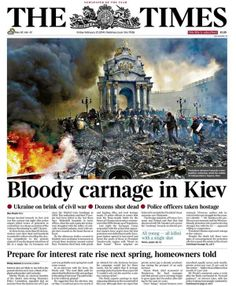 Bloody carnage in the Ukraine