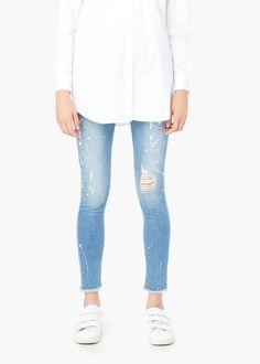 Pol slim-fit jeans - Jeans voor Dames | MANGO