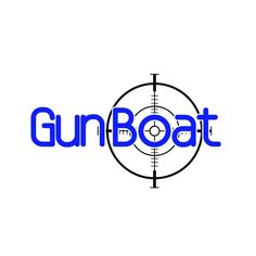 Cool and strong masculine logo for racing yacht named Gun Boat. by Johnny Tsunamni