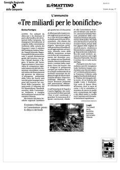 rifiuti-in-campania-3-miliardi-per-le-bonigiche-ma-scompaiono-22-discariche by Alessio Viscardi via Slideshare